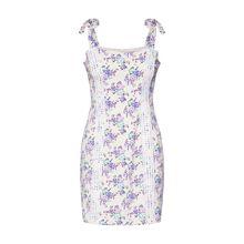 GLAMOROUS Kleid Sommerkleider weiß Damen