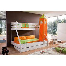 Turmset groß Spielbetten, grün/orange  Kinder