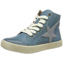 Bisgaard Unisex-Kinder Schnürschuhe High-Top, Blau (600-3 Jeans), 35 EU