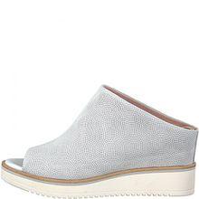 Tamaris Pantolette 1-27200-20 Damen Plateau Keilabsatz Clogs, Schuhgröße:39;Farbe:Weiß