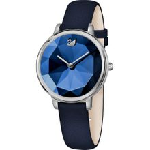 Swarovski Uhr blau / silber