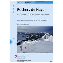 Swisstopo - 262 S Rochers de Naye - Skitourenführer Ausgabe 2007