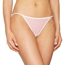 Calvin Klein Damen Bikini String, Rosa (Nympths Thigh 2Nt), 38 (Herstellergröße:M)