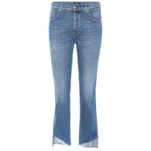 High-Rise Cropped Jeans Edie