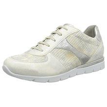 Semler Damen Nelly Sneakers, Beige (Creme-Gold), 38 EU
