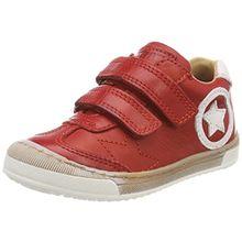 Bisgaard Unisex-Kinder Klettschuhe Sneaker, Rot (Red), 29 EU