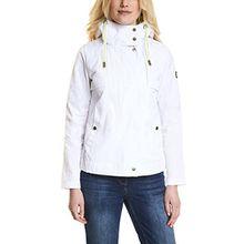 Cecil Damen Jacke 200427, Weiß (White 10000), Medium