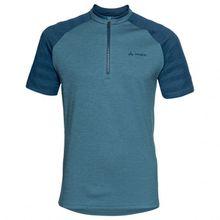 Vaude - Tamaro Shirt III - Radtrikot Gr L blau/türkis