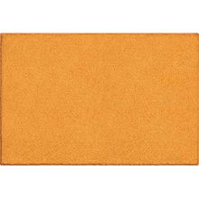 GRUND Badteppich 100% Baumwolle, ultra soft, rutschfest, ÖKO-TEX-zertifiziert, 5 Jahre Garantie, MANHATTAN, Badematte 80x140 cm, orange