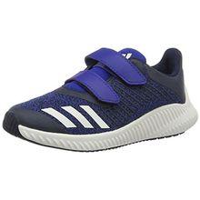adidas FortaRun CF K, Unisex-Kinder Sneakers,Blau (Croyal/Ftwwht/Conavy), 37 1/3 EU