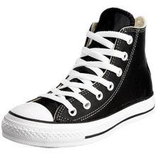 Converse Chucks Taylor All Star Hi Leder, Unisex - Erwachsene Sneaker, Schwarz (Schwarz), 40 EU
