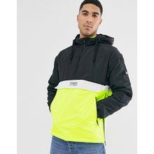 Tommy Jeans - Jacke zum Überziehen mit Farbblockdesign - Schwarz