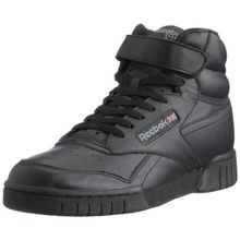 Reebok Ex-O-Fit HI, Herren Hohe Sneakers, Schwarz (Int-Black), 47 EU (12 Erwachsene UK)