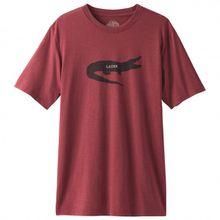 Prana - Later Alligator S/S T-Shirt Gr L;M;S;XL;XXL rot/rosa;grau;oliv/braun