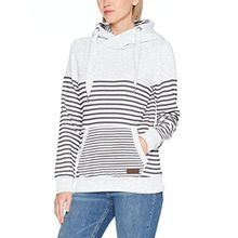 Sublevel Damen Sweatshirt D1074L01736A, Grau (Light Grey Melange 23100), 38 (Herstellergröße: M)
