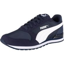 PUMA Sneaker 'ST Runner v2' nachtblau / weiß
