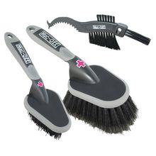 Muc Off - Brush Set 3-Pack - Bürstenset schwarz