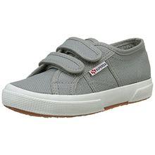 Superga 2750- JVEL CLASSIC S0003E0, Unisex - Kinder Sneaker, Grau (M38 Grey Sage), 33 EU (1 UK)
