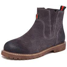 Fangsto  Boots,  Mädchen Damen Chelsea Boots , mehrfarbig - grau - Größe: 36