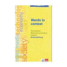 Buch - Words in Context, Neubearbeitung