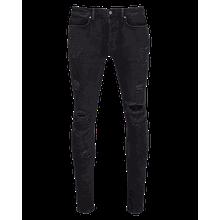 tigha Herren Jeans Morten schwarz (vintage black ripped)