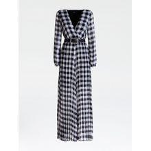 GUESS Kleid dunkelblau / weiß