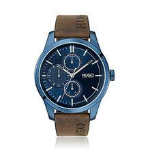 Uhr aus beschichtetem Edelstahl mit Logo-Armband