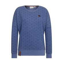 Naketano Female Sweatshirt Jane Forensik Blue Melange, M