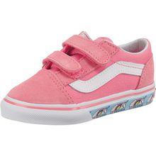 VANS Baby Sneakers Low TD Old Skool V für Mädchen pink Mädchen