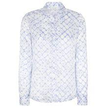 ETERNA Bluse hellblau / weiß