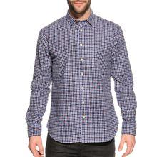 New Zealand Auckland Hemd Regular Fit in blau für Herren