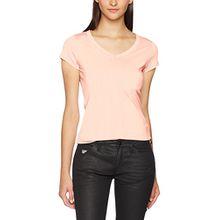 G-STAR RAW Damen T-Shirt Eyben Slim V T Wmn S/S, Rosa (Lt Mauve 8882), Medium