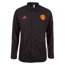 ADIDAS PERFORMANCE Jacke 'Manchester United Z.N.E.' gelb / rot / schwarz