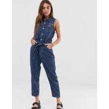Levi's - Ärmelloser Jeans-Jumpsuit - Blau
