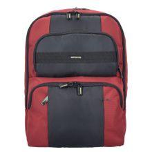 SAMSONITE Infinipak Sicherheits Rucksack 44 cm Laptopfach rot / schwarz