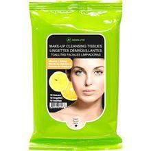 Absolute New York Pflege Gesichtspflege Make-up Cleansing Tissues Vitamin C 60 Stk.