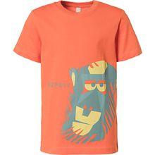 T-Shirt  orange Jungen Kinder