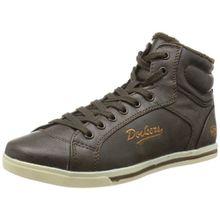Dockers by Gerli 326101-133020, Damen Hohe Sneakers, Braun (cafe 020), 38 EU (5 Damen UK)