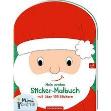 Buch - Mini-Künstler: Mein erstes Sticker-Malbuch mit über 100 Stickern (Weihnachten)