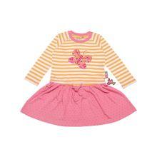 SIGIKID Kleid orange / pink / weiß