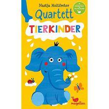 Quartett - Tierkinder (Kinderspiel)