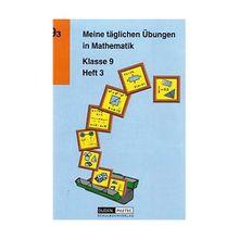 Buch - Meine täglichen Übungen in Mathematik: Klasse 9, EURO