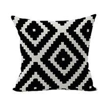 Souarts Kissenbezug Dekorative Kissenhülle Kissen Abdeckungen für Sofa Überwurf Kissen Fall Geometrie Gedruckt 45x45cm