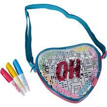 Color Me Mine - Swap Heart Bag