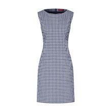 HUGO Kleide 'Katisa-2' blau / weiß