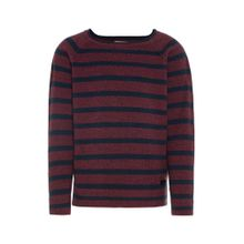 NAME IT Pullover navy / weinrot