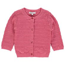 Strickjacke Poinciana  rosa Mädchen Baby