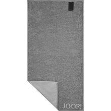 JOOP! Duschtuch Classic Doubleface 1600 | 76 silber - 80 x 150