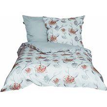 Schöner Wohnen Bettwäsche-Set, 100 Prozent CO, Coral, 220 x 155 cm
