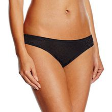 Triumph Damen Slip Body Make - Up Blossom Tai, Gr. 40, Schwarz (BLACK 04)